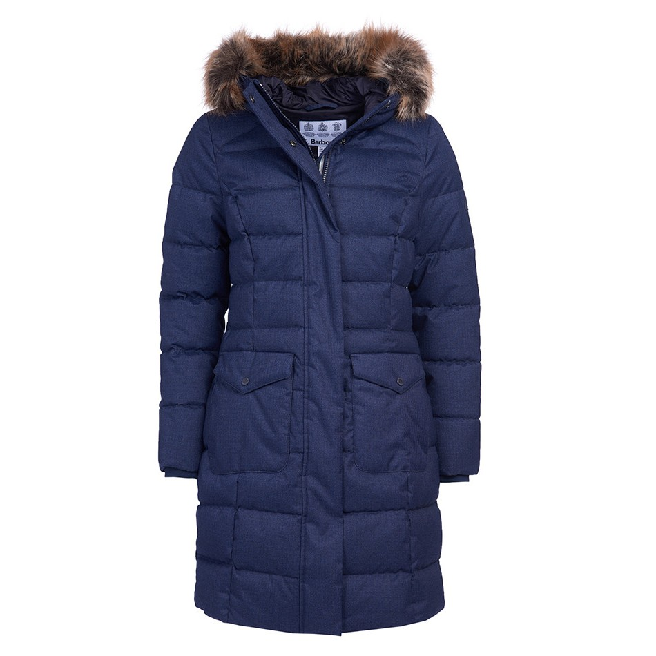 Barbour Guanay Quilt NAVY/14