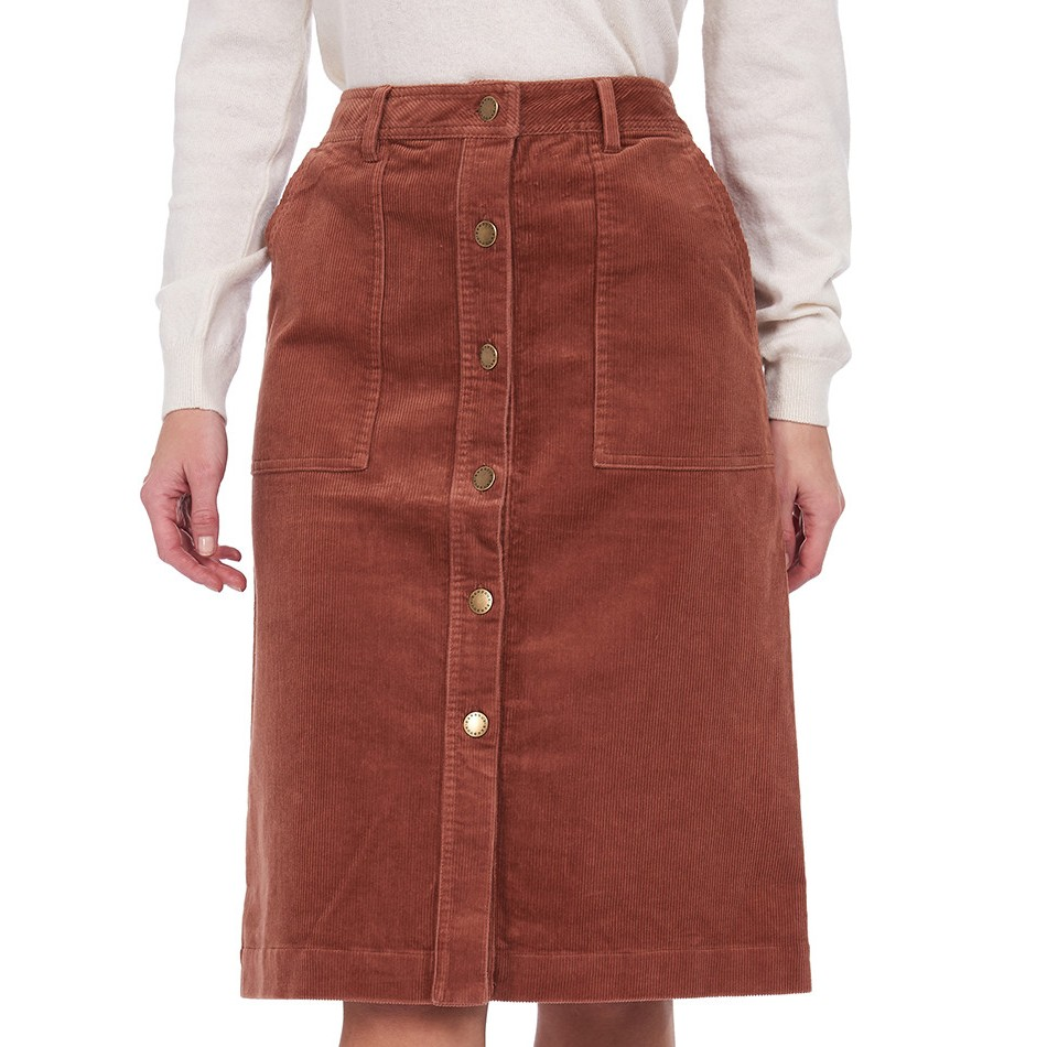 Barbour Rebecca Skirt BROWN/14