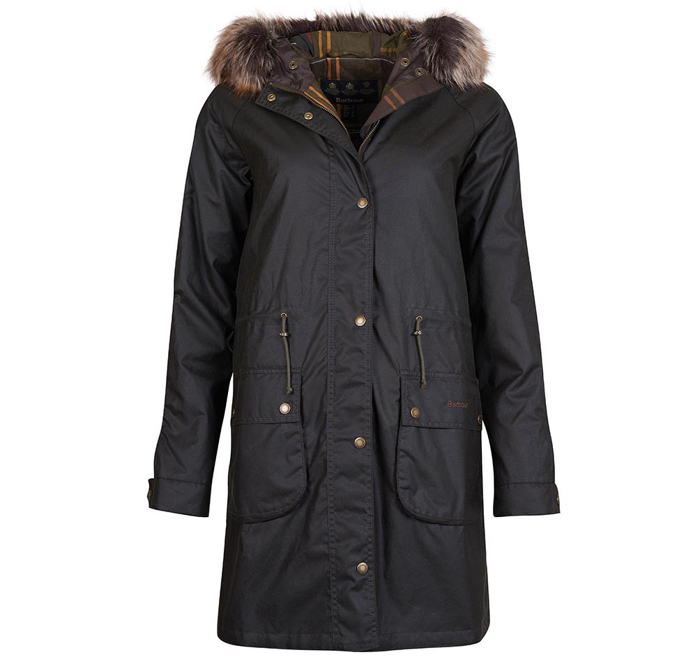 Barbour Mull Wax OLIVE/10