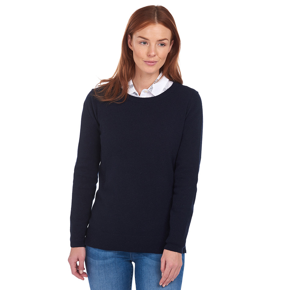 Barbour Pend Crew Knit NAVY/10