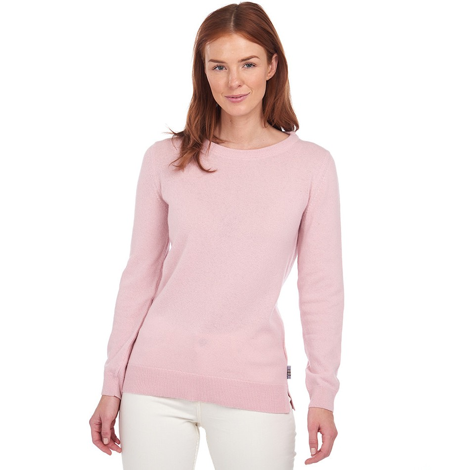 Barbour Pend Crew Knit PINK/14