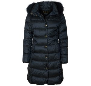 Barbour Women's Earn Quilted Jacket | Black