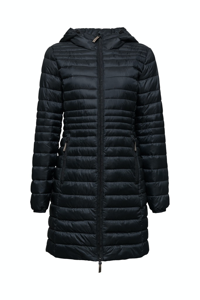 3M™ Thinsulate™ quilted coat Black