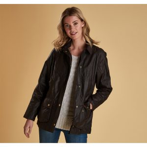 Barbour Beadnell Wax J RUST/10
