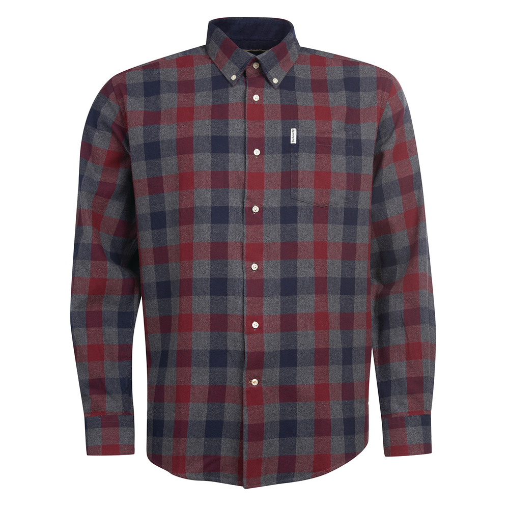 Barbour Westoe Shirt   GREY/XL