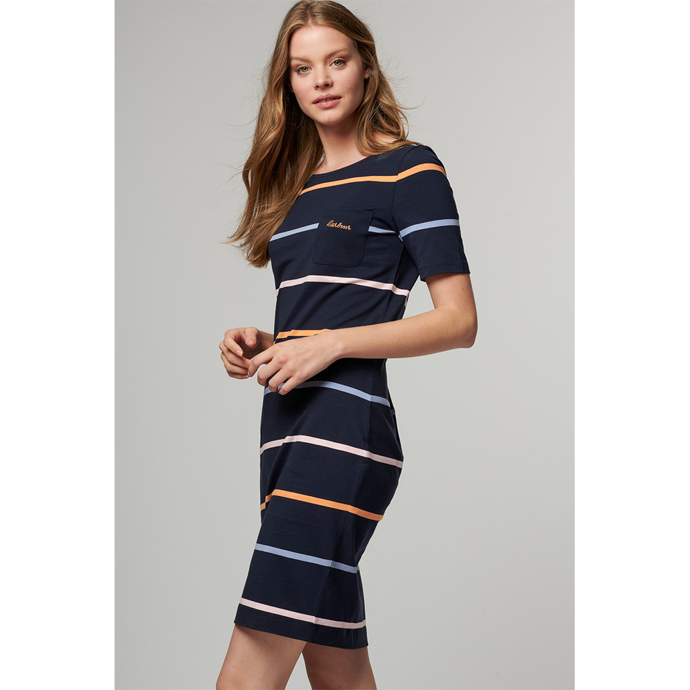 Barbour Stokehold Dress NAVY/16