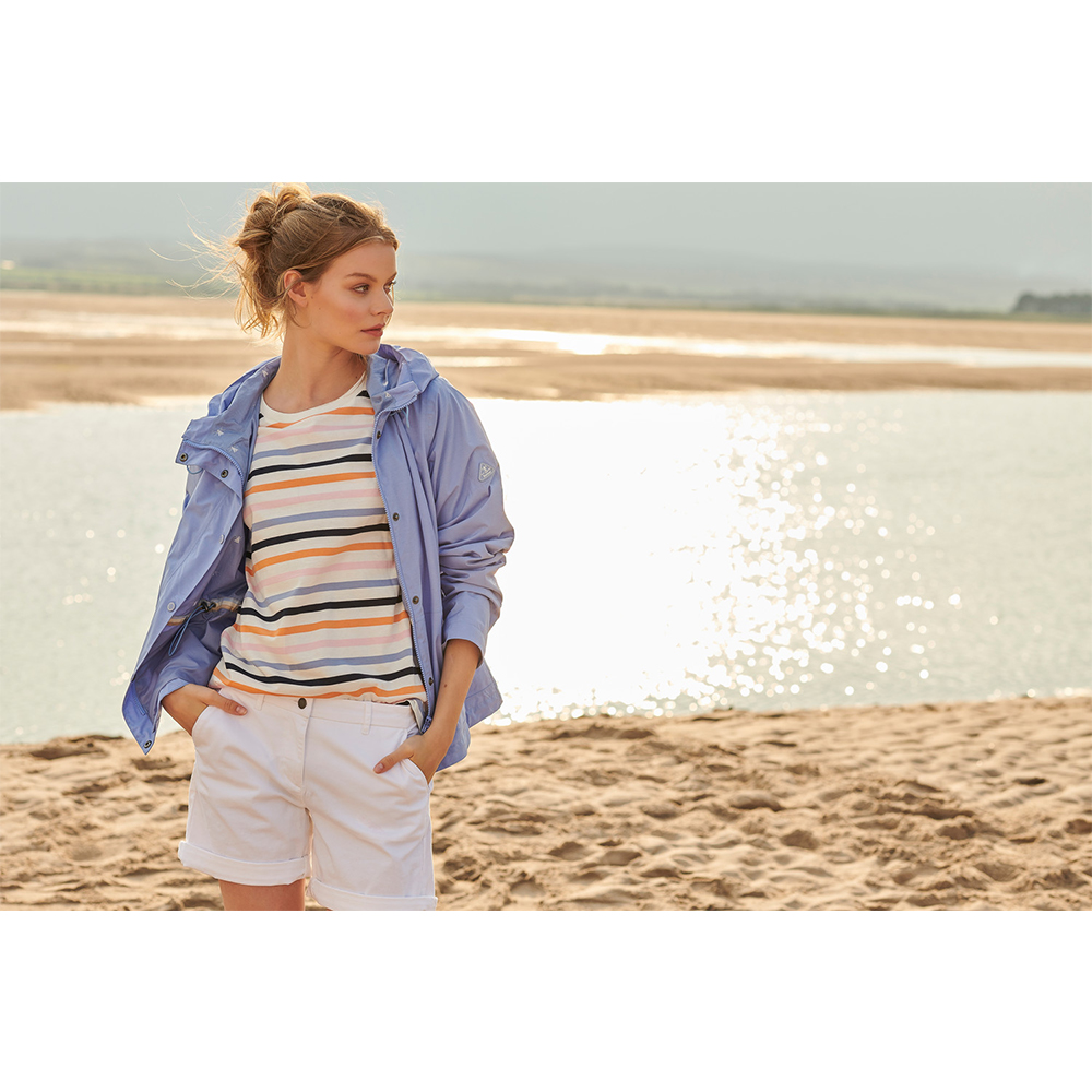 Barbour Newhaven Top WHITE/10