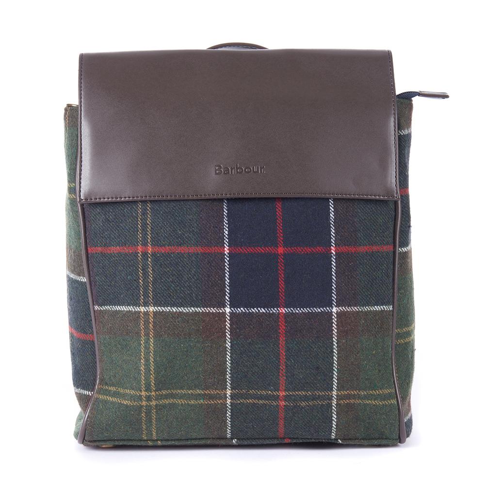 Barbour Witford Tartan Backpack Classic Tartan