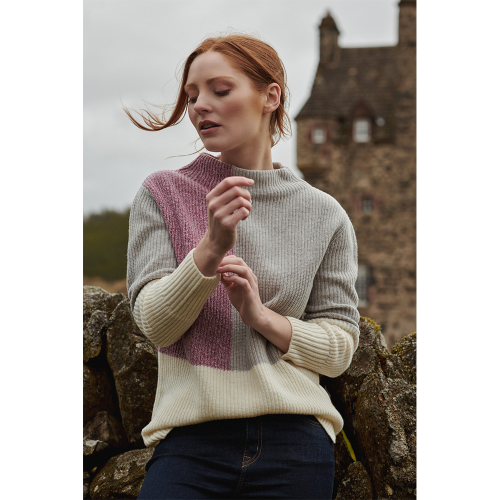 Barbour Earn Knit CREAM/12
