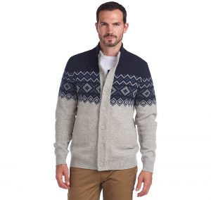 Barbour Kirk Butto Thu NAVY/LARGE