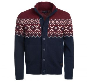 Barbour Kirk Butto Thu RED/XL