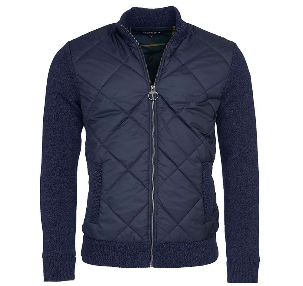 BARBOUR MAGNUS ZIP THROUGH SWEATER