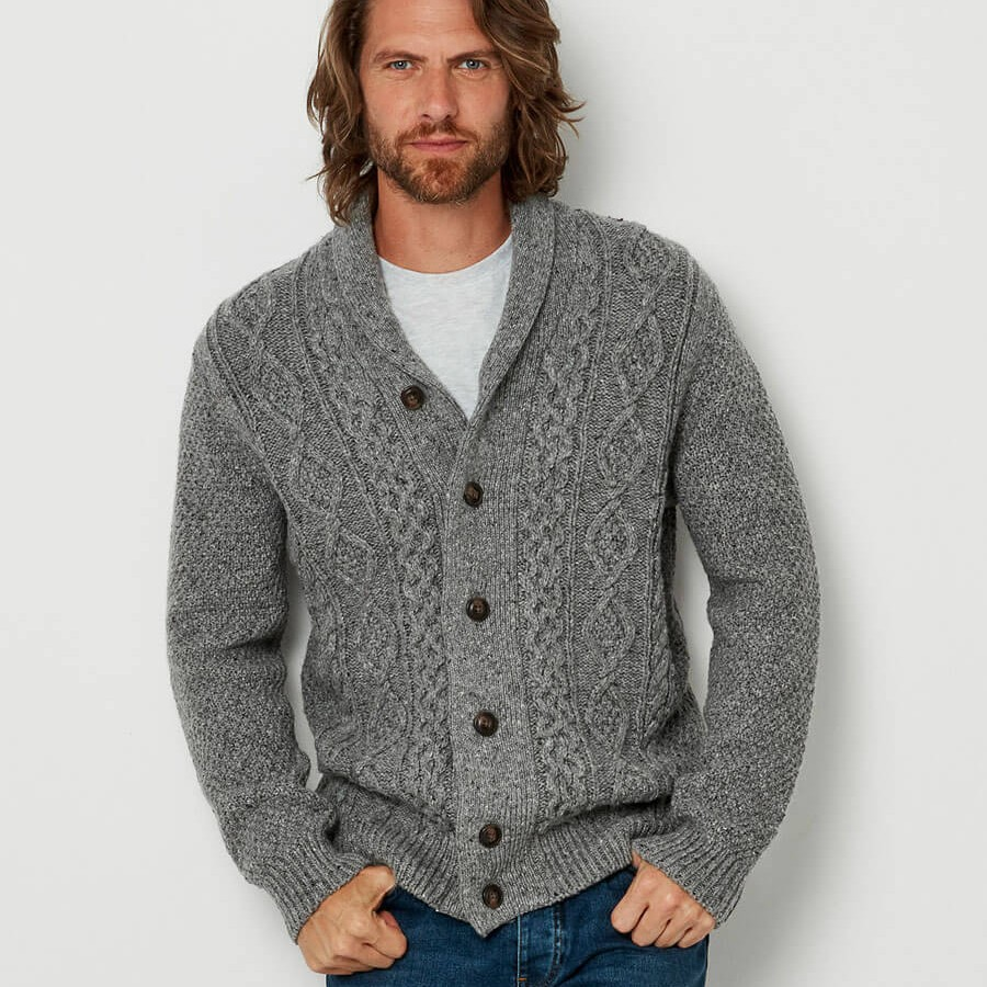 Hickory Cardigan Grey
