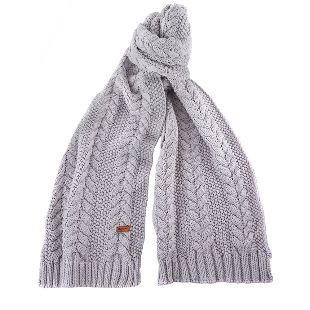 Barbour Cable Bennie & Scarf Gift Set