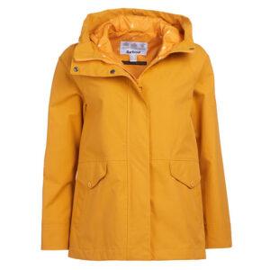 Barbour Mersey Waterproof Jacket Yellow