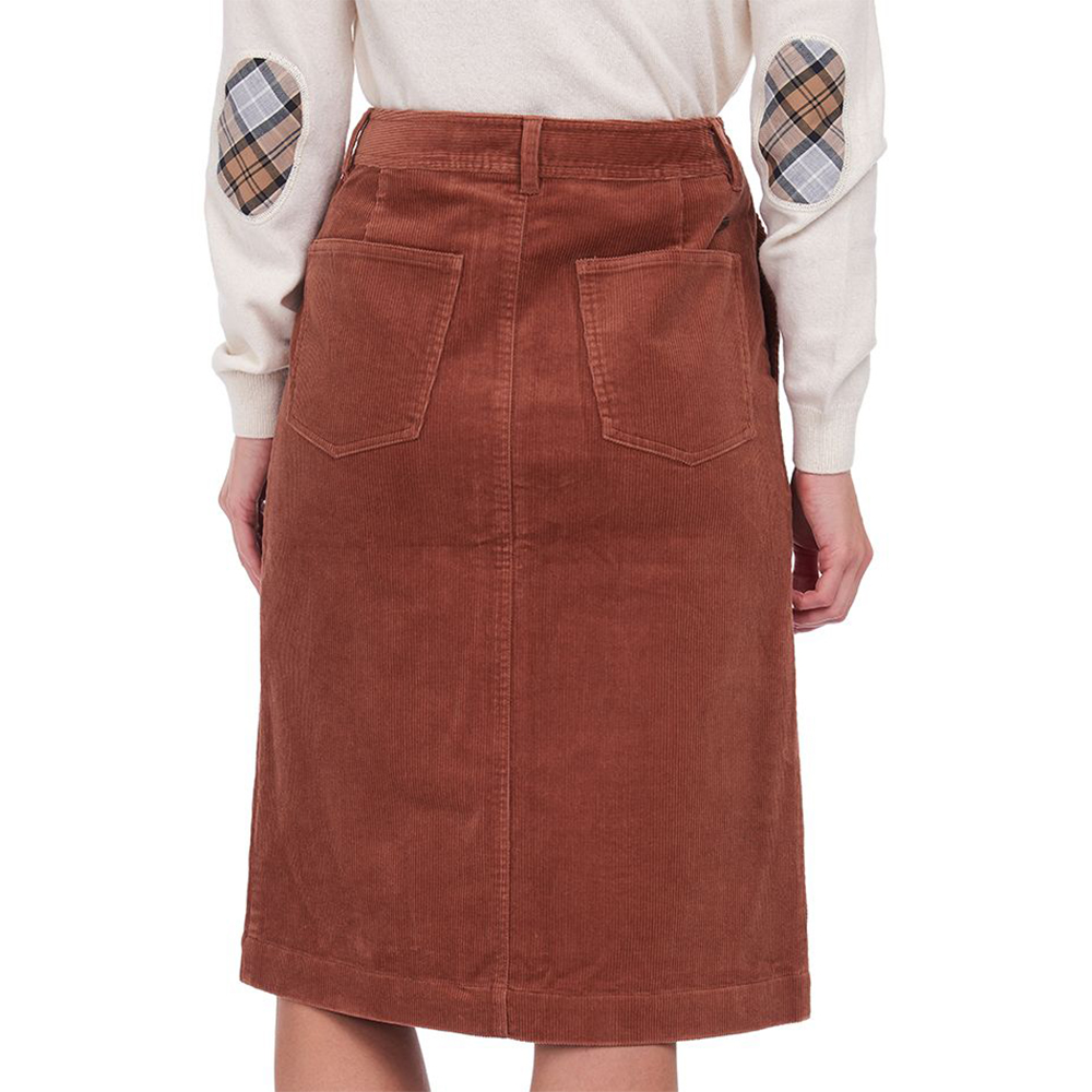 Barbour Rebecca Skirt Brown