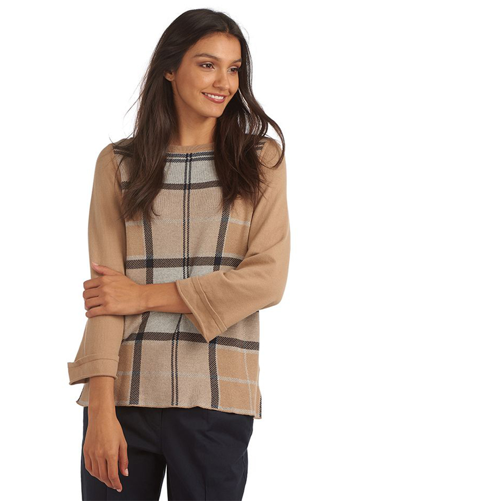 Barbour Forth Knit Beige