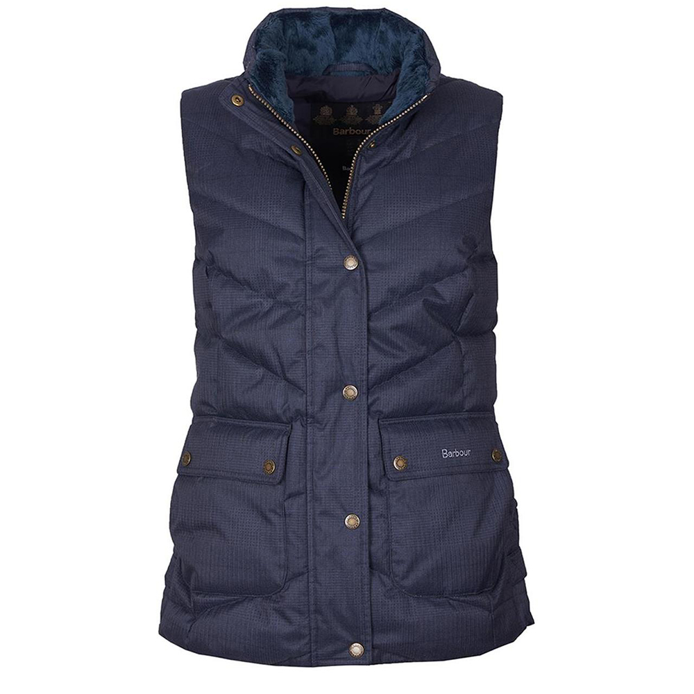 Barbour Kingston Gilet Navy