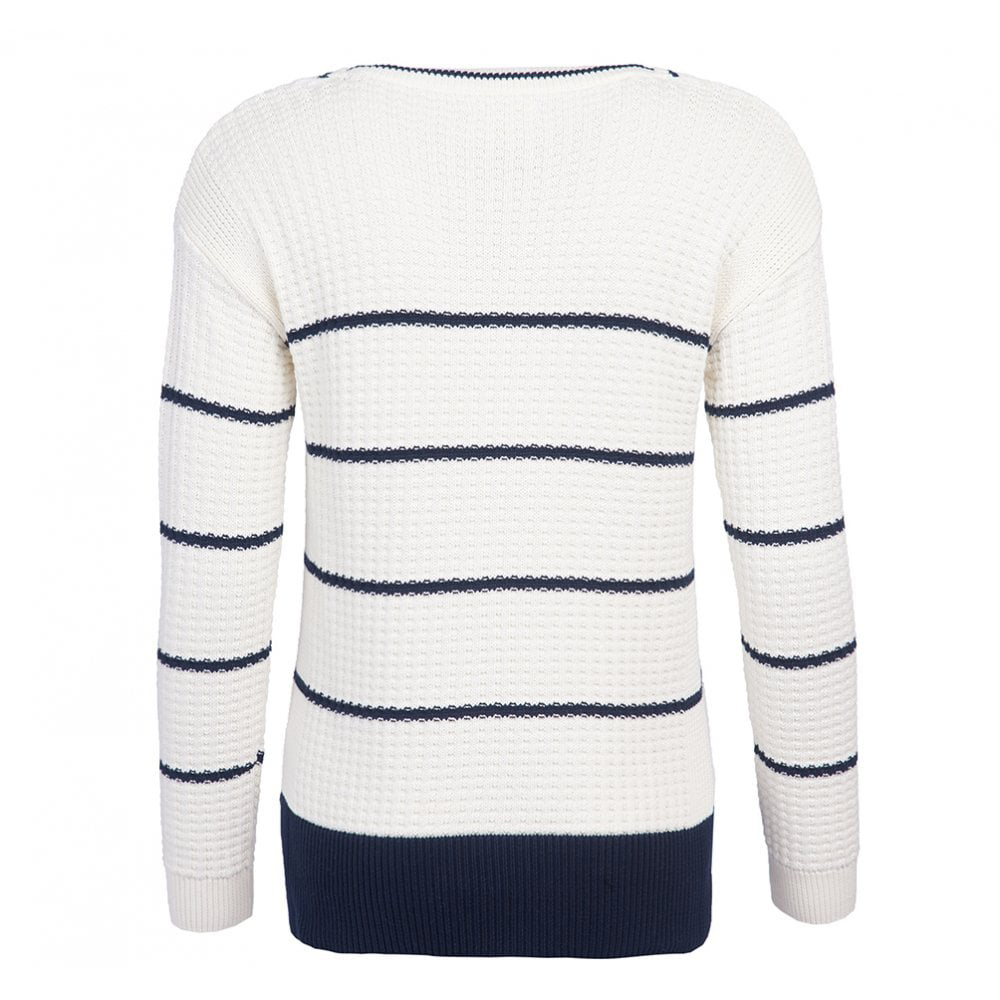 Barbour Petrel Womens Knit Cream