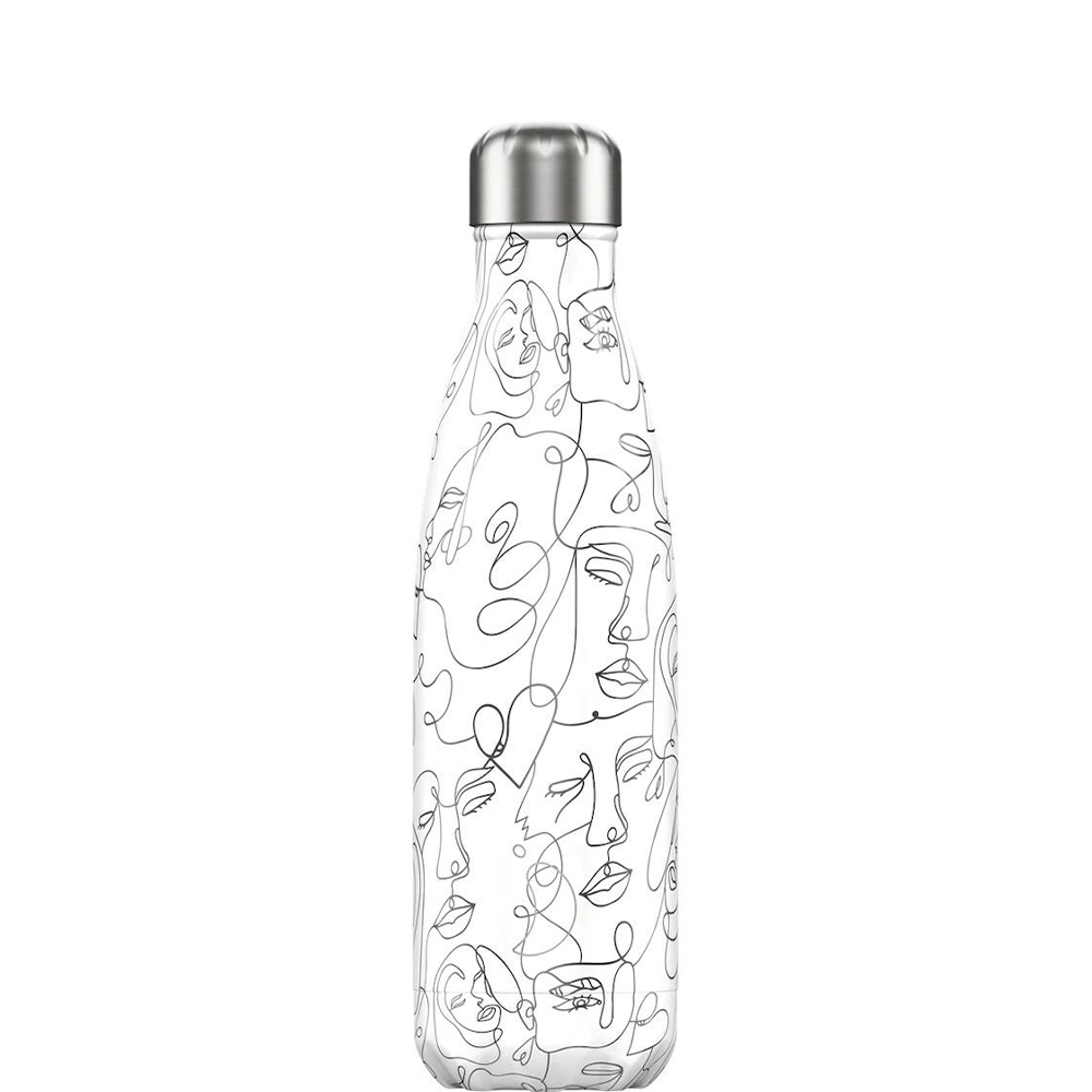 Line drawing faces 500ml