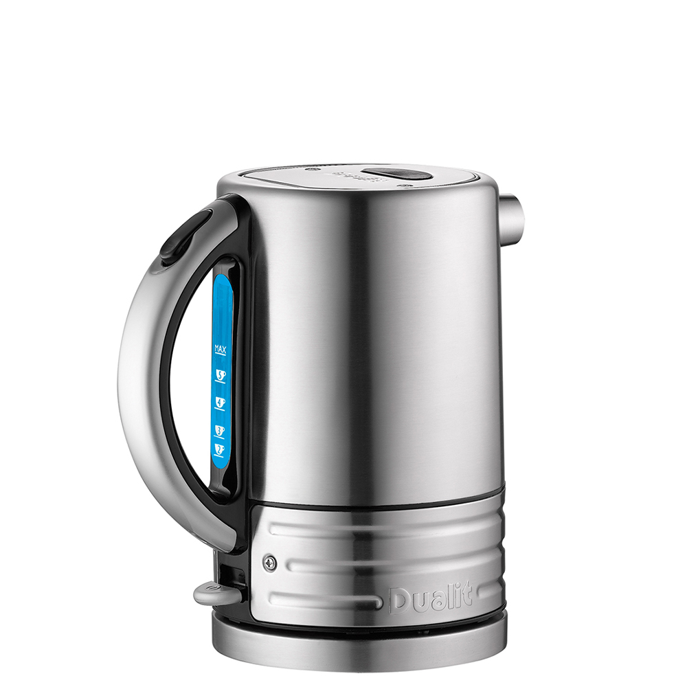 Dualit Architect Black and Brushed Stainless Steel Kettle 1.5 Litre