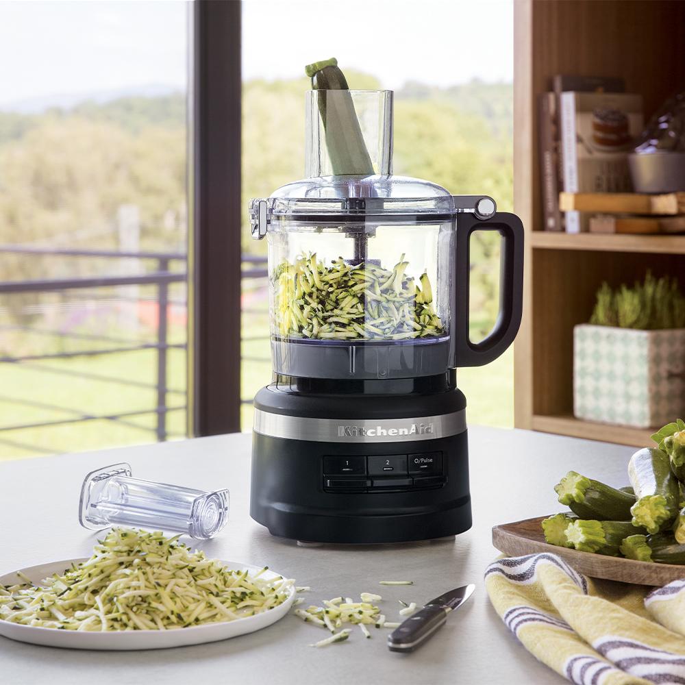 KitchenAid 1.7L Matte Black Food Processor