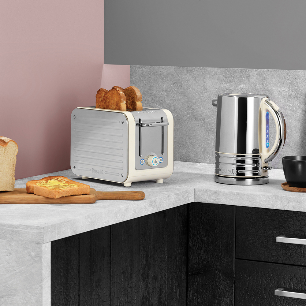 Dualit Architect Canvas and Stainless Steel Kettle