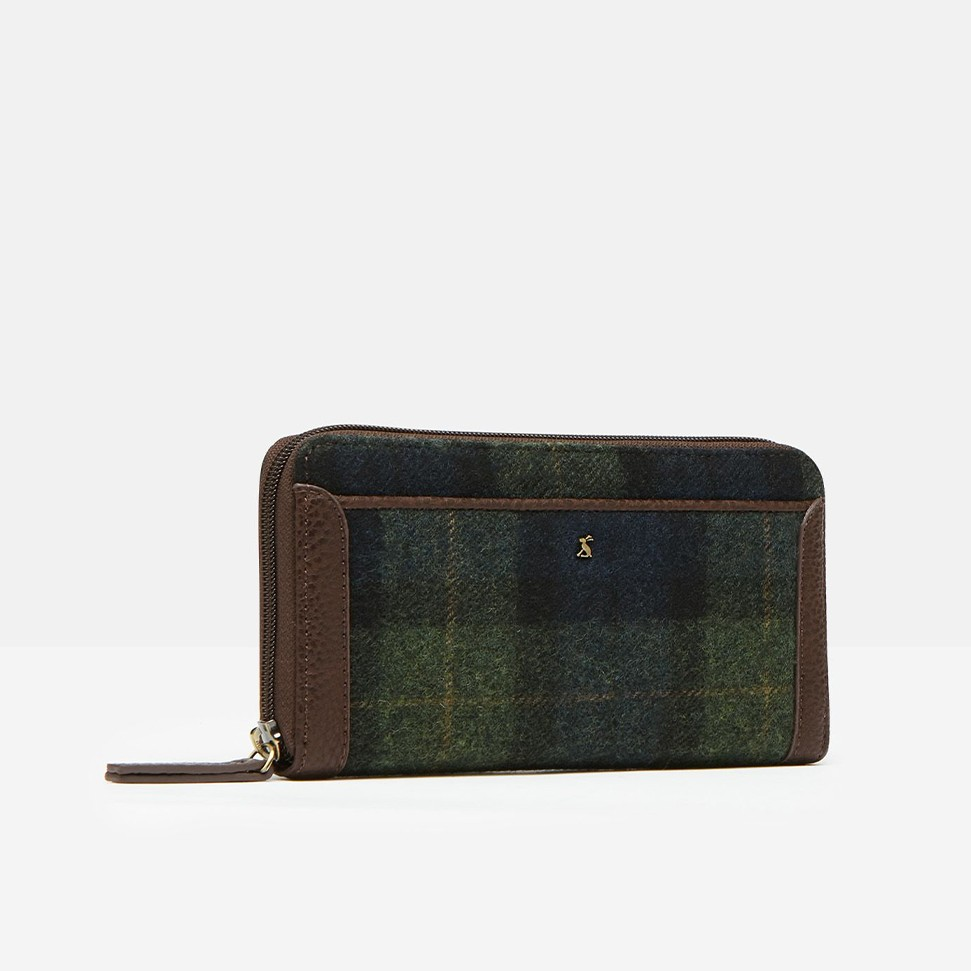 Fulbrook Tweed Purse Navy