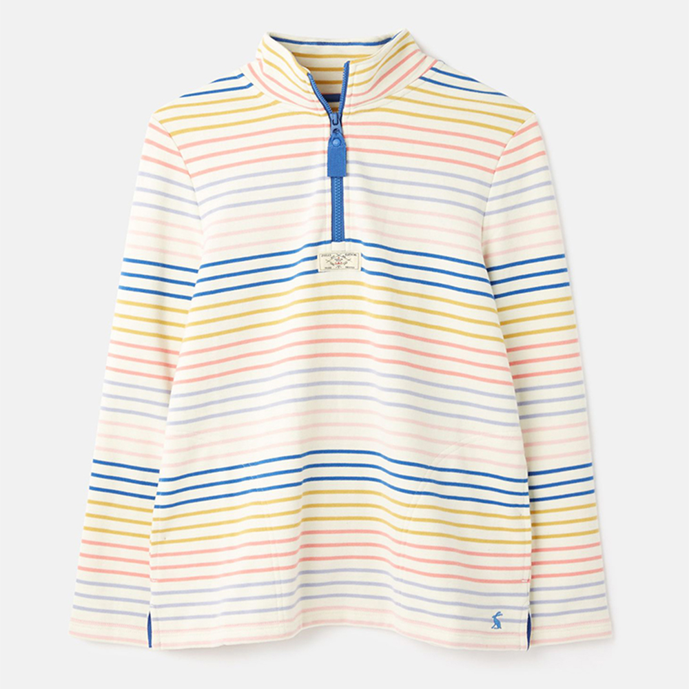 Pip Casual Half Zip Sweatshirt Cream