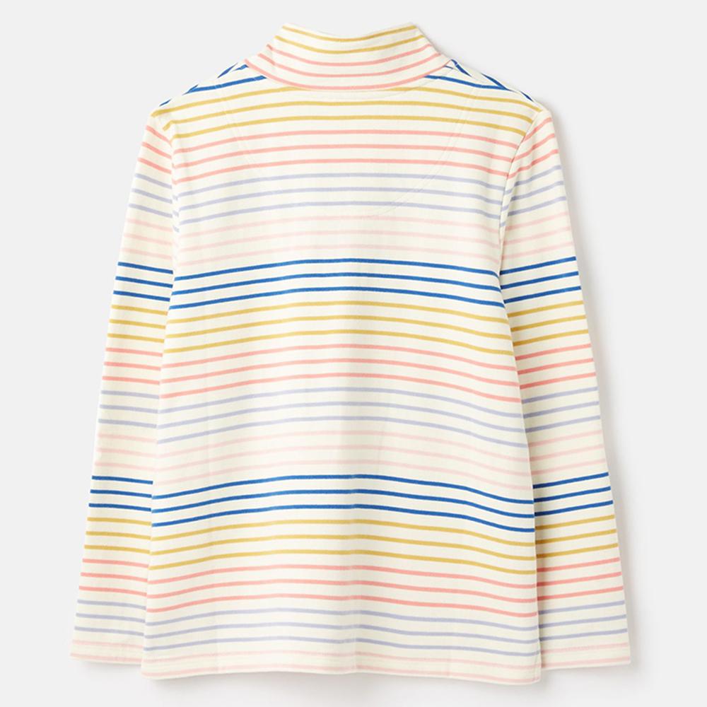 Pip Casual Half Zip Sweatshirt Cream
