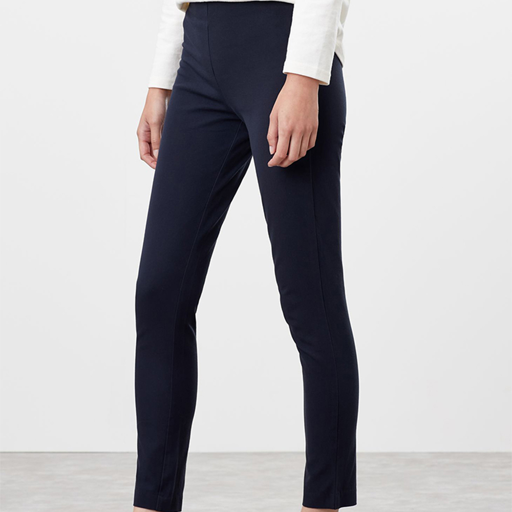 Hepworth Pull On Stretch Trouser Navy