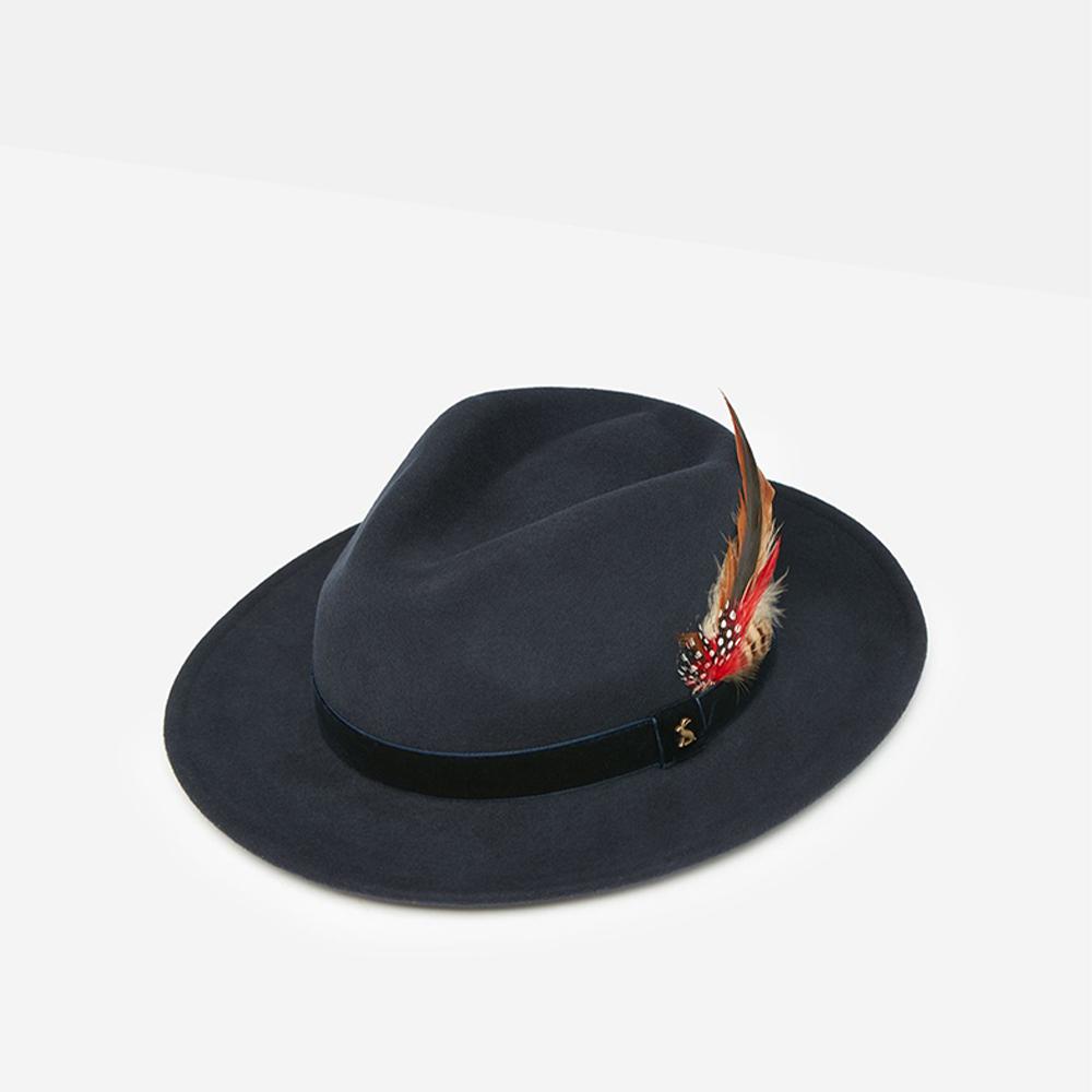 Fedora Felt Hat Navy