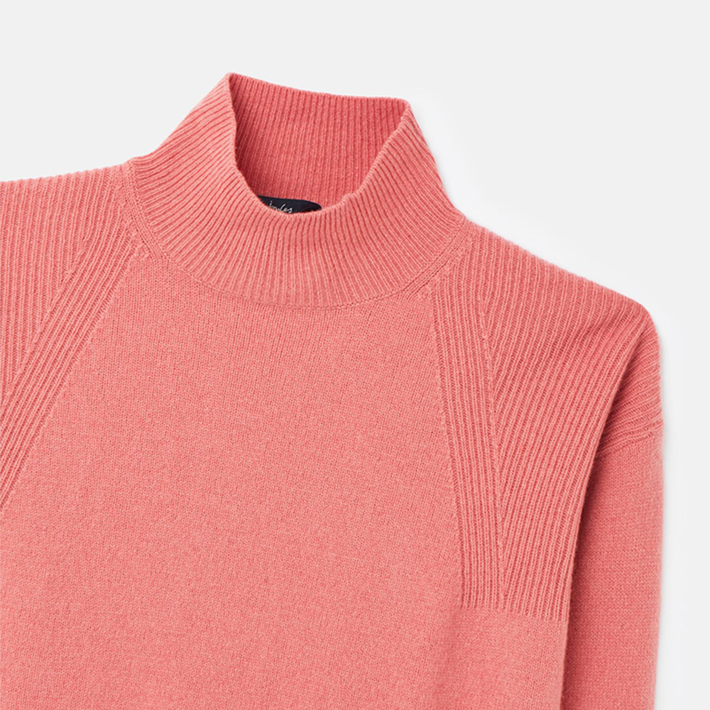 Halton Knittted Turtle Jumper Pink