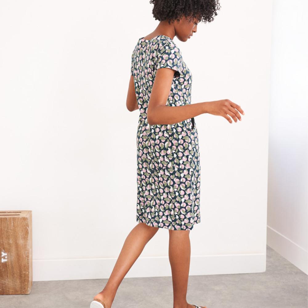 Sage Fairtrade Dress Teal