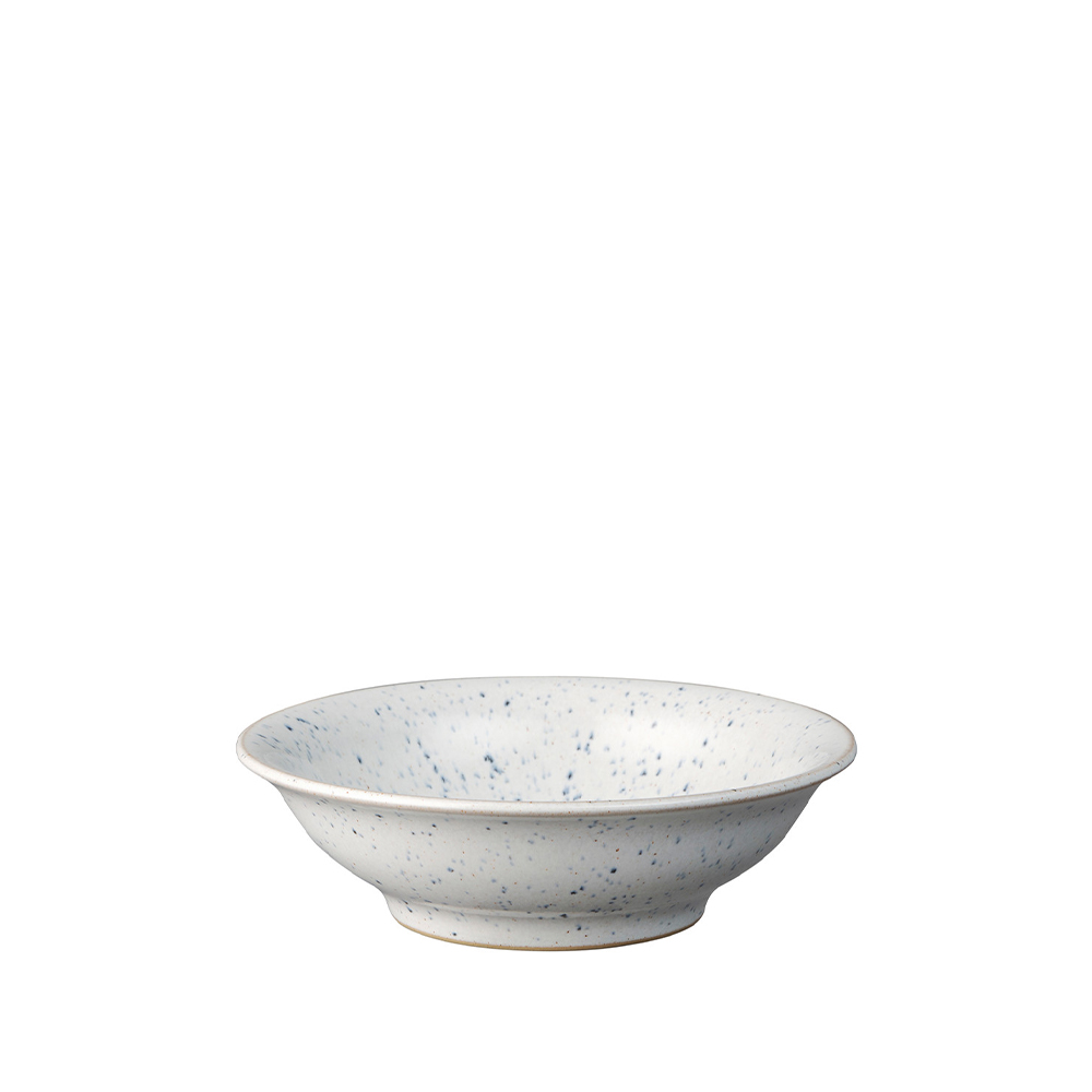 Studio Blue Chalk Small Shallow Bowl