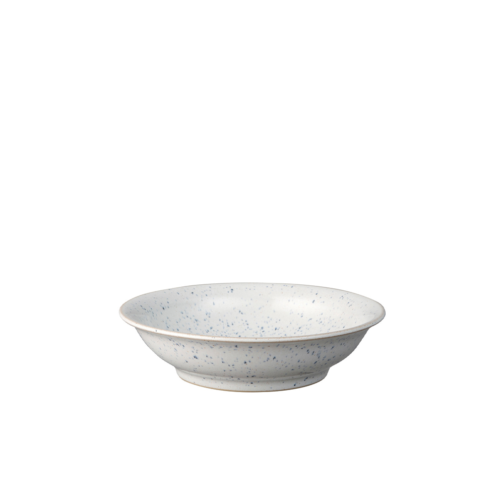 Studio Blue Chalk Medium Shallow Bowl