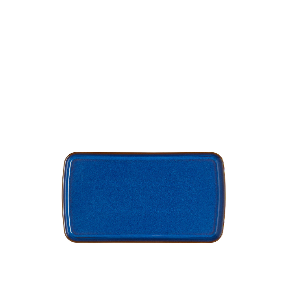 Imperial Blue Small Rectangular Platter