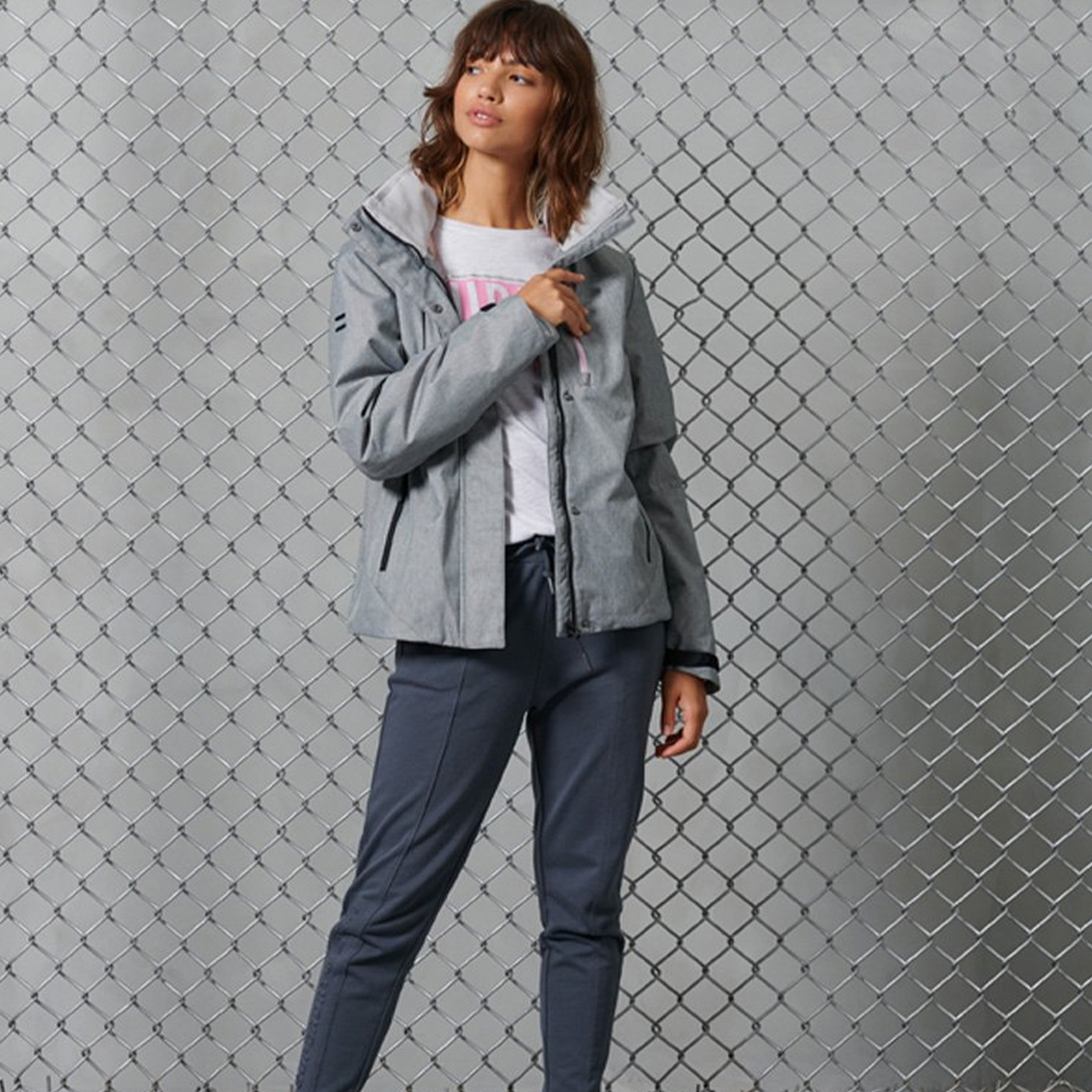Hurricane Jacket Grey