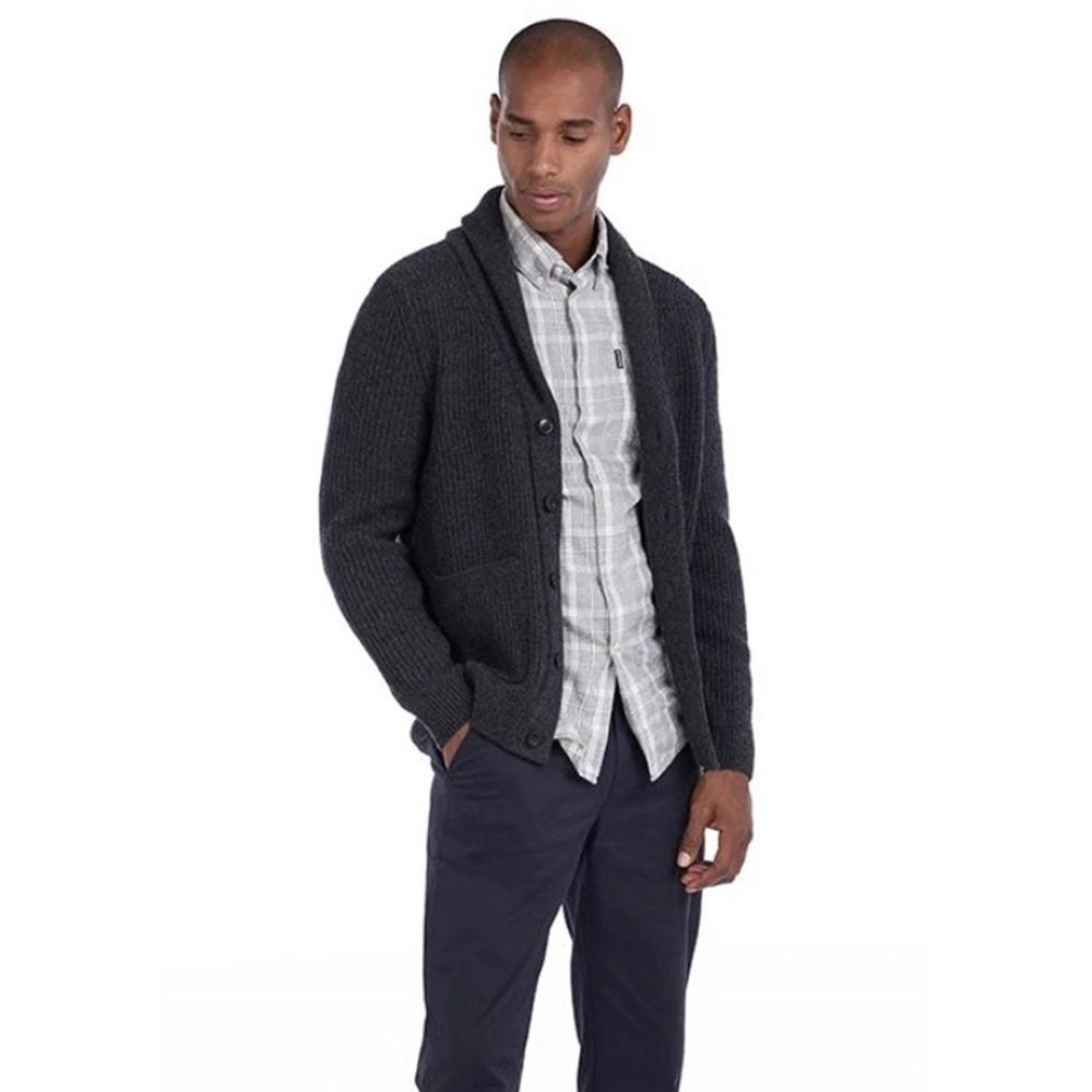 Barbour Findlay Knitwear - Grey/Charcoal