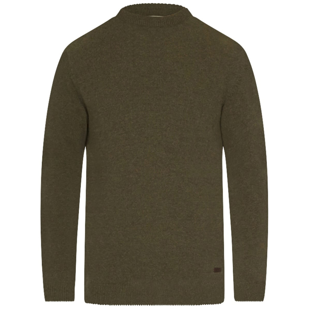 Barbour Nelson Essential Crew Neck Green