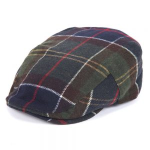 Barbour Gallingale Tartan Flat Cap in Classic