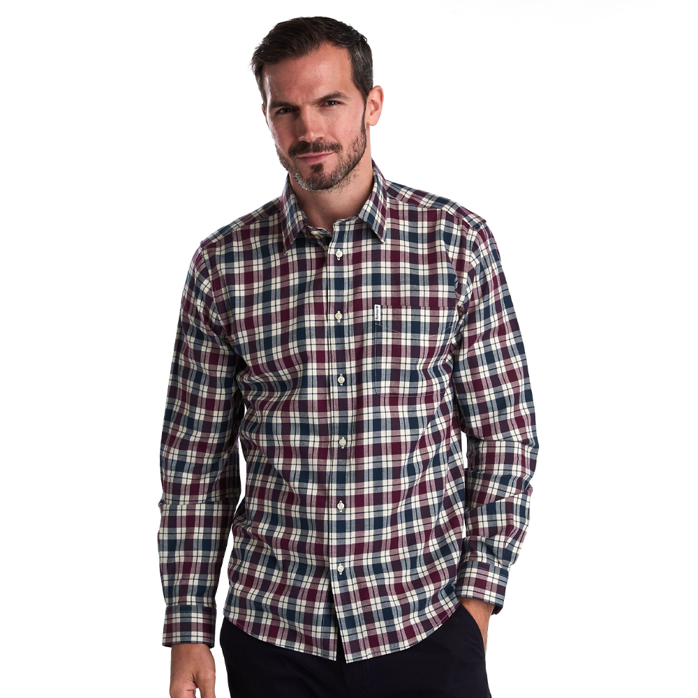 Barbour Astwell Shirt  Red