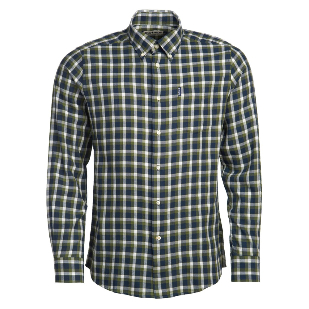 Men's Barbour Eco 2 Tailored Shirt Navy