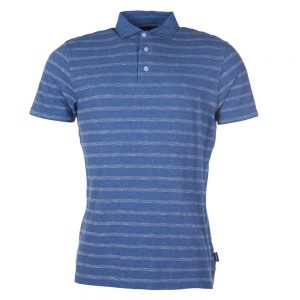 Barbour Blyth Stripe Polo Shirt Blue