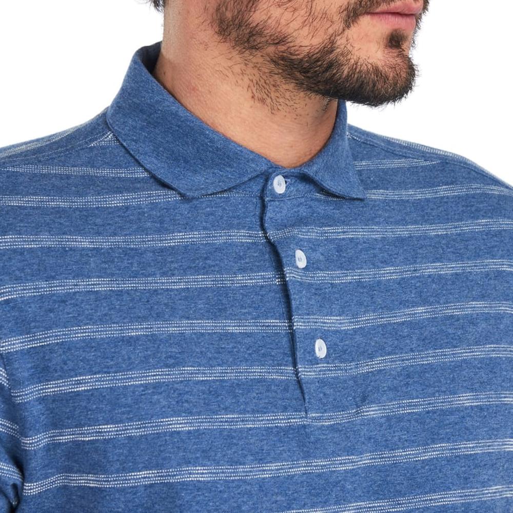 Barbour Blyth Stripe Polo Shirt Blue