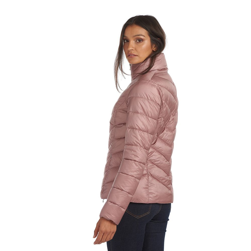 Barbour Monteith Quilt Pink