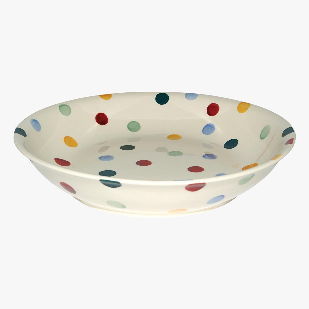 Emma Brigdewater Polka Dot Medium Pasta Bowl