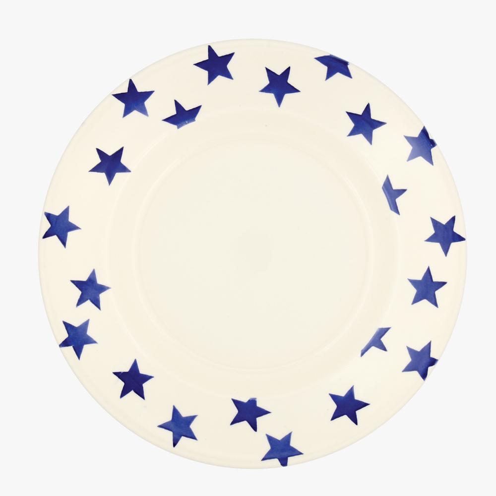 Emma Bridgewater Blue Star 10 1/2