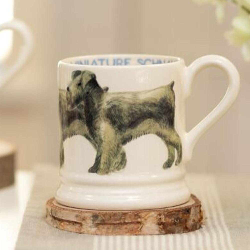 Emma Bridgewater Dogs Miniature Schnauzer 1/2 Pint Mug