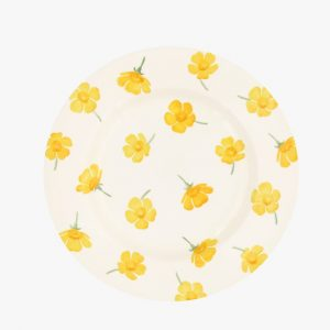 Emma Bridgewater Buttercup Scattered 8 1/2 Inch Plate